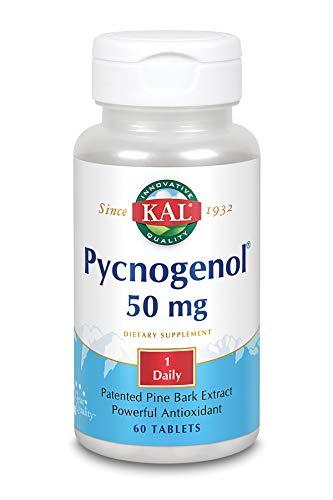 KAL Pycnogenol 50mg   60 Tabletas