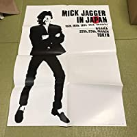 ミックジャガー 日本ツアー ポスター