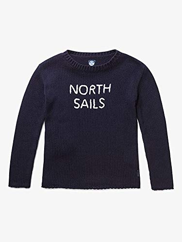 North Sails trui met lange mouwen voor dames, wolmix, marineblauw, maat S