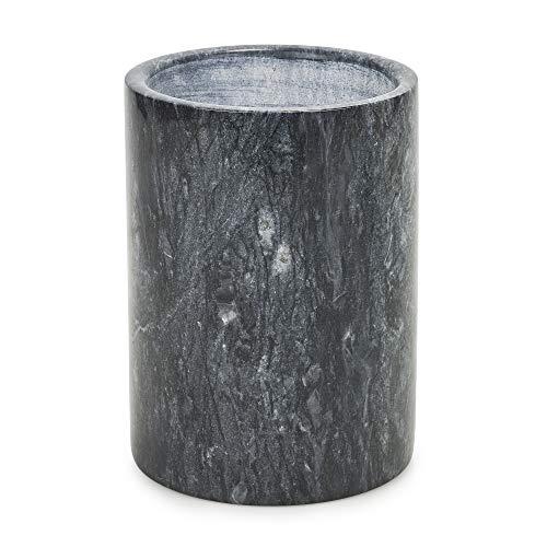 Homiu Weinflaschenkühler Stein Design für Wein Prosecco Champagner Schwarz