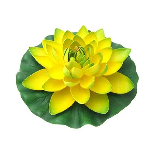 Uxcell Dekorative Schaum-Aquarium-Lotuspflanzen.