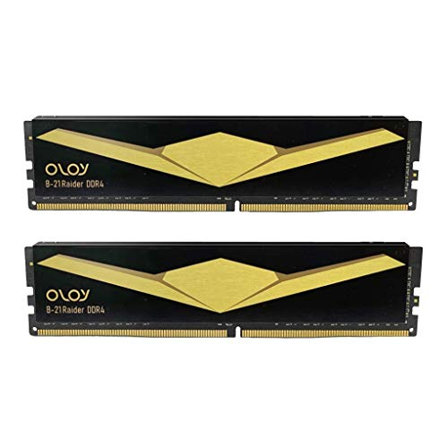 OLOy DDR4 RAM 16GB (2x8GB) 2666 MHz CL19 1.2V 288-Pin Desktop UDIMM (MD4U0826190BB2DA)