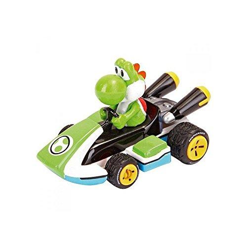 Mario Kart Nintendo Figur Pull Speed Yoshi, Mehrfarbig (Carrera 9003150193173)