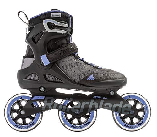 Rollerblade Damen Sirio 100 3WD W Inline-Skate, Grey/Lilac, 250
