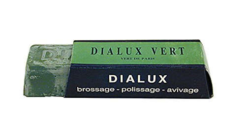 DIALUX One Bar of Green (Vert) Jewelers Polishing Compound Rouge - Paste