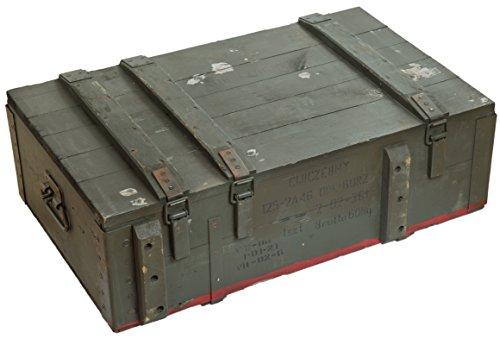Schöne alte Munitionskiste Typ AD 81 Militärkiste Munitionsbox ca 82x51x29cm Holzkiste Holzbox Weinkiste Apfelkiste Shabby Vintage