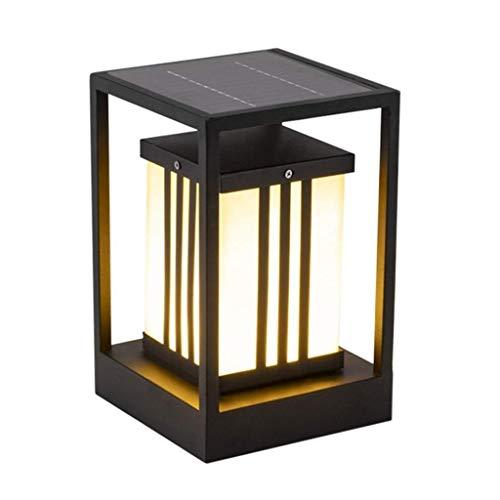 Lámpara Solar Recargable de luz Blanca Hermosa, luz LED Solar al Aire Libre, lámpara de Montaje en Pared, lámpara de jardín Solar Impermeable, lámpara de Calle