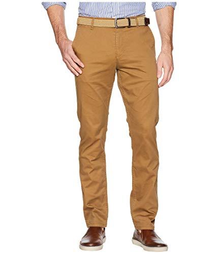 Dockers mens Slim Fit Original Khaki All Seasons Tech Pants,Leather - Brown,34W x 34L