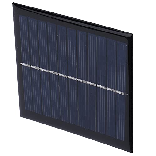 FOLOSAFENAR Tablero de Carga Solar, módulo Solar Ahorro de energía para batería 3.7V-5V para Juguetes solares