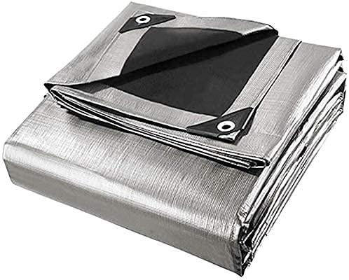 Telone impermeabile per esterno telo impermeabile esterno Telo multiuso Telo impermeabile Telo resistente Materiale in polietilene con occhielli Adatto per tenda a baldacchino Tenda per camper Piscina