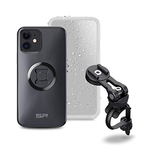 SP Connect Handyhalterung Bike Bundle II, Black/Transparant, passend f r iPhone 12 Pro/12