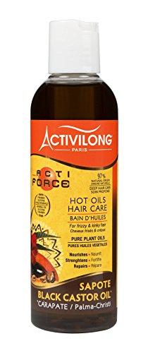 Activilong Actiforce - Mix di oli al ricino nero di Giamaica e al sapote, 200ml