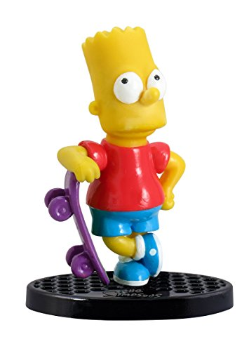 The Simpsons Bart with Skateboard Mini PVC Figure