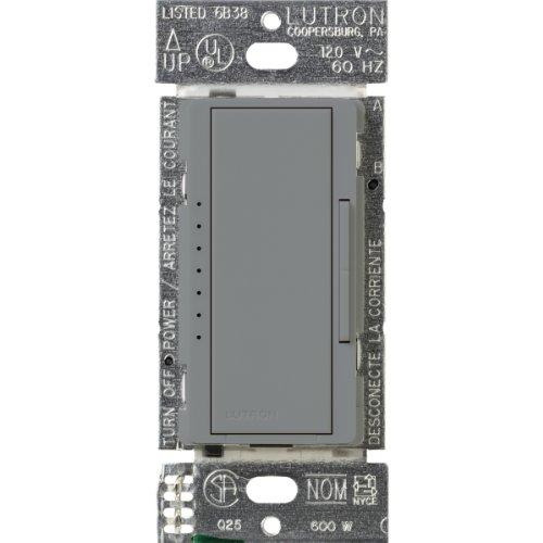 Lutron MALV-1000-GR LIGHTING DIMMER, 1 Pack, Gray