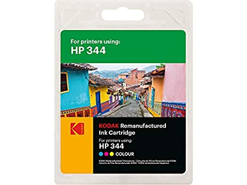 Kodak Supplies 185H034413 Adecuado para HP DJ460 Tinta Color Compatible también HP344/C9363EE 560 Lados 21ml
