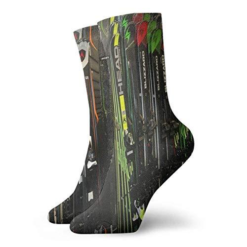 bester der welt yting Twin Tip Snow Ski Kurze, atmungsaktive Socken für Erwachsene Klassische Baumwollsocken 30cm… 2021