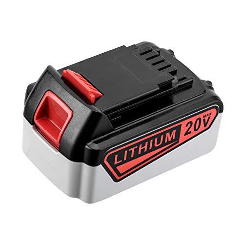 Dutyone 7000mAh 20V Replacement Battery for Black and Decker 20 Volt MAX Cordless Power Tool LBXR20 LB20 LBX20 LBXR2020-OPE LBXR20B-2 LB2X4020 Lithium Ion Battery