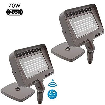 Lightdot LED Barn Light, Dusk-to-Dawn Outdoor Yard Light with Photocell, 5000K Daylight Waterproof Area Street Flood Lights (DLC & ETL Listed)