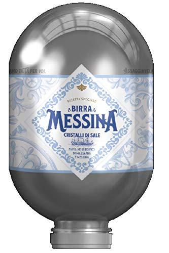 BIRRA MESSINA Messina-Bier Salzkristalle Keg-Klinge 8 lt