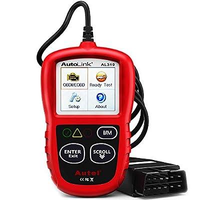Autel AutoLink AL319 OBD2 Scanner Automotive Engine Fault Code Reader CAN Scan Tool by Autel