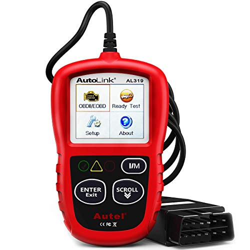 Our #3 Pick is the Autel AutoLink AL319 OBD2 Car Diagnostic Scanner