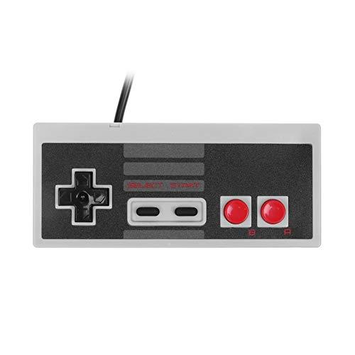 Domybest Gamepad mini spelconsole klassieke editie vec verlengkabel voor Nintendo NES (1 stuks)