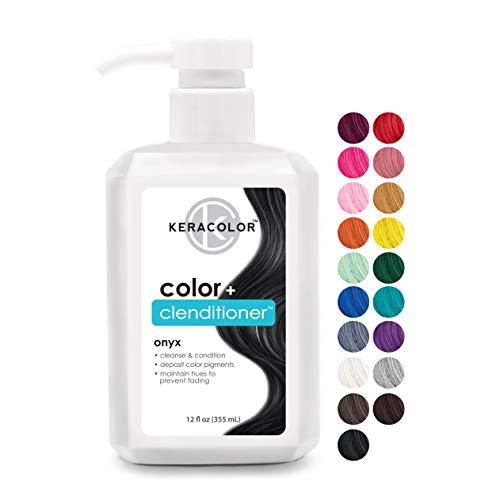Keracolor Clenditioner ONYX Hair Dye - Semi Permanent Hair...