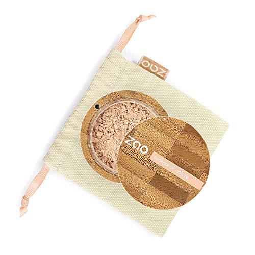 Zao - Bambus Mineral Silk - Mineralpuder - Nr. 501 / Clear Beige - 13,5 g