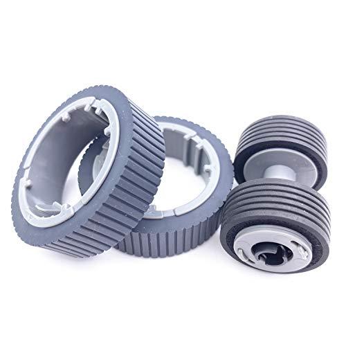 OKLILI PA03670-0001 PA03670-0002 Consumable Kit Pick Roller + Brake Roller Pickup Roller Compatible with fi-7160 fi-7260 fi-7140 fi-7240 fi-7180 fi-7280 fi-7300NX