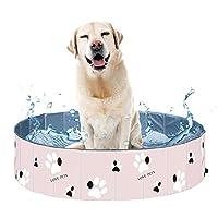 犬用プールペット入浴浴槽猫ペットシャワーペットPvc折りたたみ浴槽洗面器入浴プールポータブル犬風呂80 * 30Cm