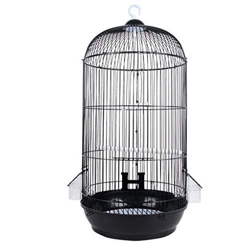 YINGZI Jaula Jaula PáJaros con Parazo de Parazo de Stan Loro Grande 2 Caja de Cajador para Lovebards Finches Cockatiels Canarias Hacer y Decorar
