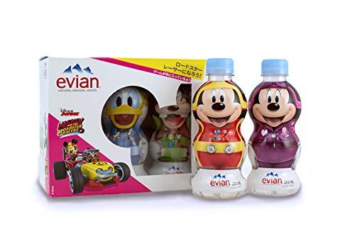 ダノン エビアン ディズニーパッケージトーテムボックス 310ml 1箱 5本 ※2種類のゲームシートつき 対象年齢3歳以上