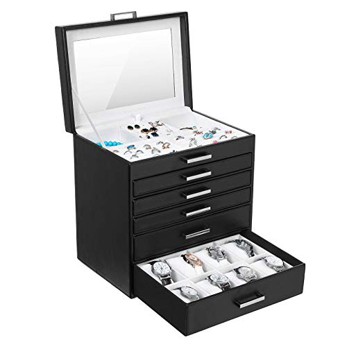 5 Drawers Jewellery Box