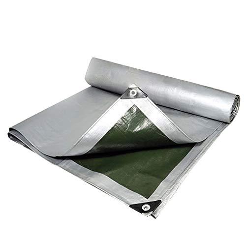 HYDL Lonas Impermeables Exterior, 160 g/m² Toldos Impermeables Exterior para Muebles de jardín, Piscina, Lona de protección Impermeable y Resistente a la Rotura