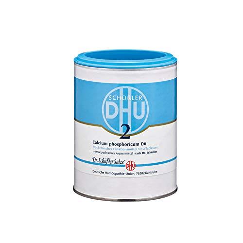 DHU Schüßler-Salz Nr. 2 Calcium phosphoricum D6 Tabletten, 1000 St. Tabletten