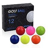 kofull 12pcs/Pack Pelotas de Golf Mini Pelotas de...