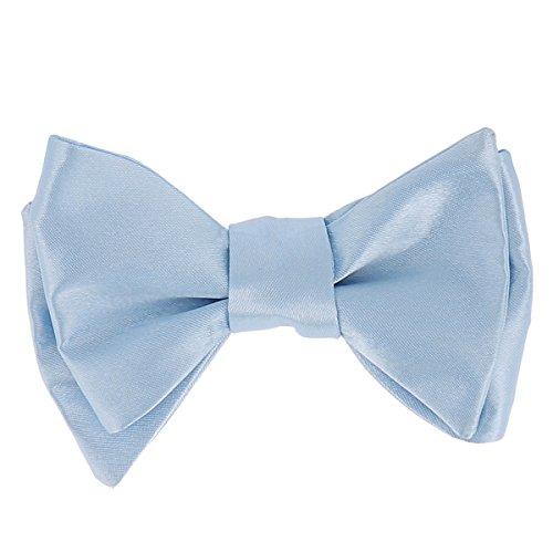 CravateSlim Noeud Papillon Bleu ciel à Nouer - Noeud Papillon Homme