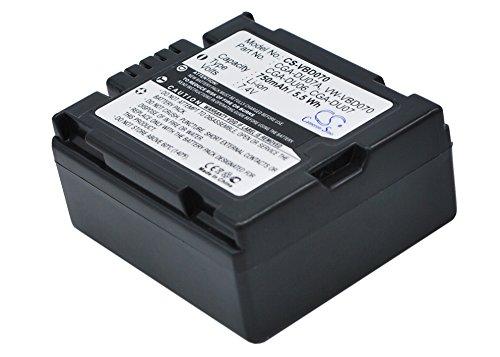 750mAh Battery Replacement for HITACHI DZ-BD70E DZ-GX5020E DZ-GX3300E CGR-DU06E/1B DZ-BP07P DZ-BP07PW DZ-BP07S DZ-BP7S DZ-BP7SJ DZ-BP7SW