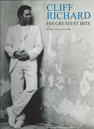 Partition : Richard Cliff His Greatest Hits Pvg