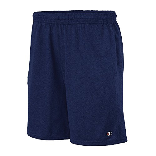 Champion Authentic Cotton 9-Inch Men's Shorts with Pockets (Navy - 2XL)