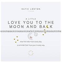 Katie Loxton A Little - Love you to the moon & back - bracelet [並行輸入品]