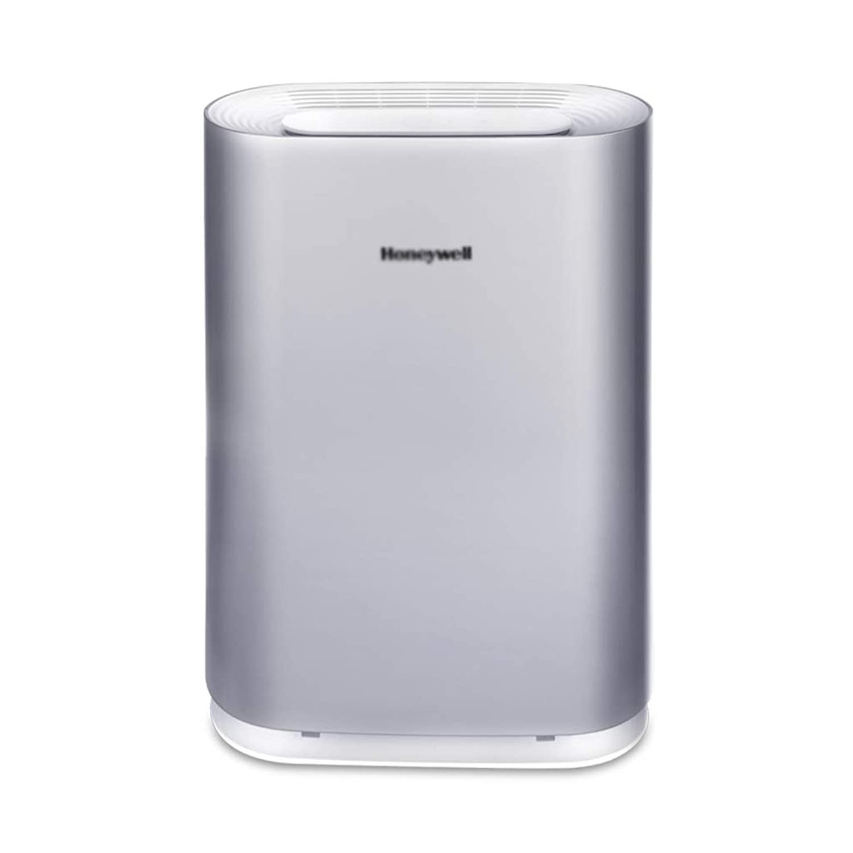 ホルムアルデヒドスマートベッドルームへの空気清浄機の家庭の追加AC3260家庭のリビングルームオフィスPM2.5アレルゲン加湿器 (Color : Silver, Size : 24.2 * 21.2 * 58.6cm)