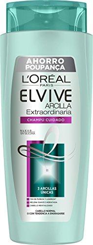ELVIVE champú arcilla extraordinaria cabello normal bote 700 ml