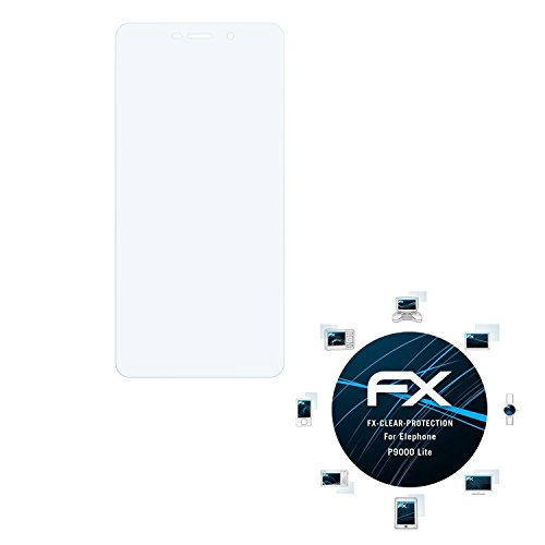 atFolix Schutzfolie kompatibel mit Elephone P9000 Lite Folie, ultraklare FX Bildschirmschutzfolie (3X)