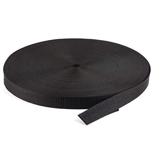 Marwotec verbindingselementen 50 m PP riem zwart riem 30 mm breed 1,3 mm dik