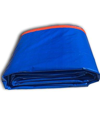 WYJW Tent accessoires Tent cover Waterdichte plastic zeildoek voor aannemers Motorhomes Schilders Boeren Boten Motorfietsen Lichtgewicht Vliegtuigen Tuin Outdoor 4m*6m