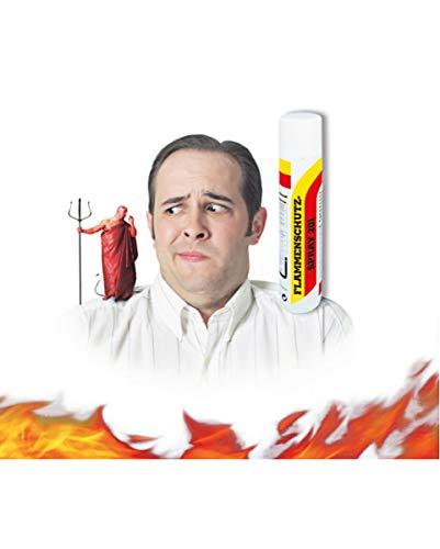 UNION SPRAY Flammenschutz Spray 201, Feuerschutz Imprägnierung, Brandschutz 400 ml Sprühdose
