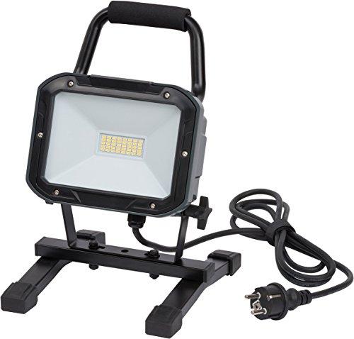 Brennenstuhl Projecteur LED SMD Portable 30W (2350lm, Utilisation intérieur et extérieur IP54, Câble H05RNF-F 3G1,0), Anthracite