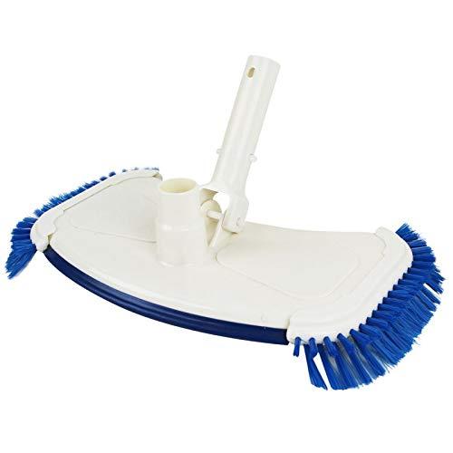 Linxor France ® Tête de balai aspirant avec brosses latérales pour manche standard ou télescopique - Norme CE