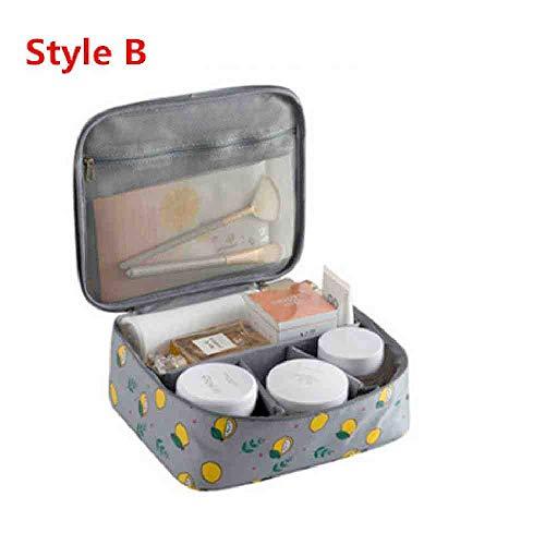 OYHBGK Femmes Cosmétique Maquillage Sac Filles Mignonne De Toilette Make Up Box Voyage Necessarie Organisateur Beauté Vanity Wash Cas De Stockage Nouveau